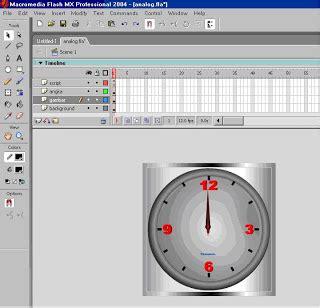 tutorial delphi membuat jam analog setelah background selesai buat 3 buah jarum jam jadikan