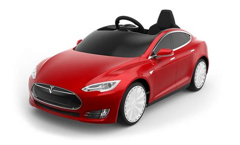 a 500 tesla model s electric car for the kid who has