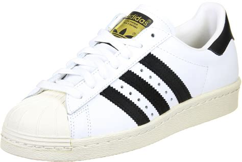 Adidas White Superstar adidas superstar 80s shoes white black