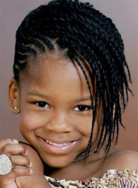 Tresse africain enfant