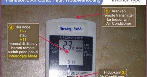 Ac Panasonic Surabaya trobelshoting ac split panasonic surabaya service air