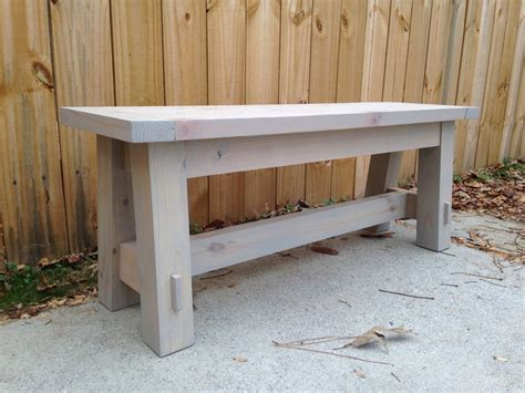 2x4 benches 2x4 bench a cheap pottery barn knock off by chris