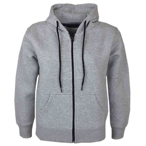 Child Sweatshirt 3 new children unisex hooded sweatshirt jacket boys plain zip up hoodie ebay