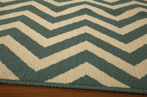 Blue Chevron Rug by District17 Blue Chevron Baja Rug Patterned Rugs Outdoor Rugs