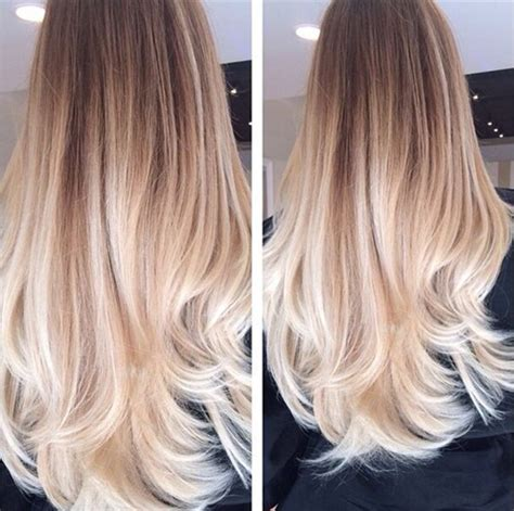 brunette to blonde ombre images brown ombre hair archives vpfashion vpfashion