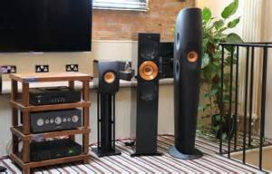 White Bookshelf Speaker Kef S Gold Tweeter Edition Speakers All Together Now