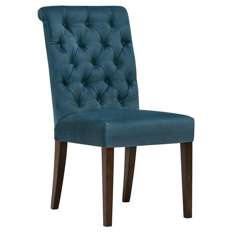 city furniture sloane dk blue upholstered side chair