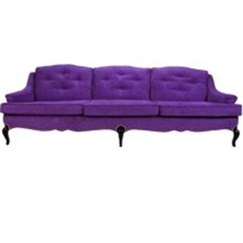 purple chenille sofa sunset sofa in purple chenille with curved back tufted