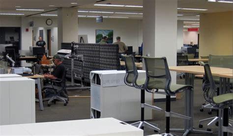 pelt reserve room second floor improvements underway pelt and opie library