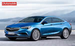 The Opel This Is How The New Opel Insignia Will Look Like