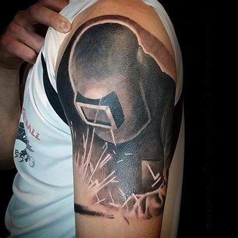 welding tattoos designs 80 welding tattoos for industrial ink design ideas