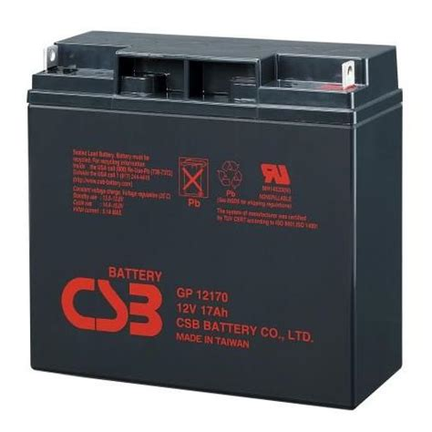 Baterai Ups 12v 17ah Gp12170 Csb Battery