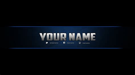 template photoshop banner 2560x1440 youtube banner best business template