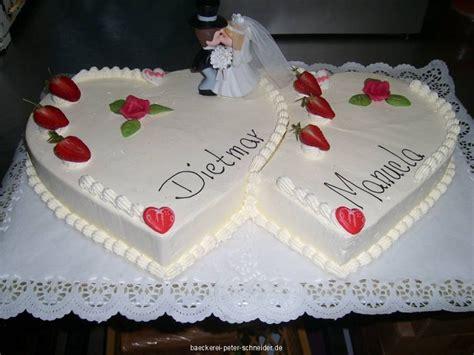 Hochzeitstorte 2 Herzen by Hochzeitstorten Nach Ihren W 252 Nschen Aus Der Hauseigenen