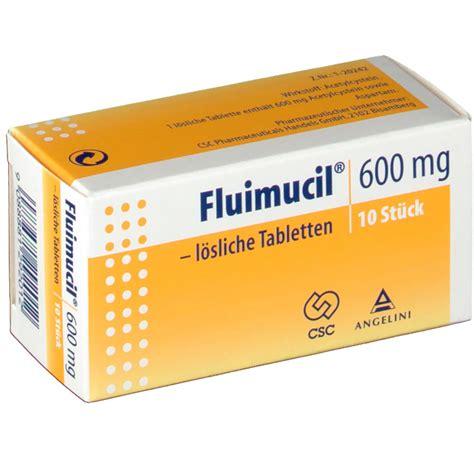 Fluimucil 600 Mg fluimucil 174 600 mg l 246 sliche tabletten shop apotheke at