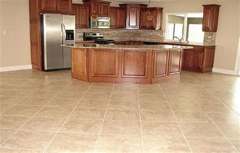 marvelous types of kitchen flooring with durable kitchen