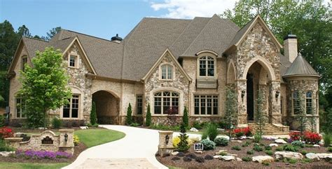 Chateau Style House Plans by Luxury European Style Homes Traditional Exterior