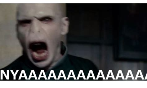Scream Meme - image 138156 voldemort s wilhelm scream know your meme