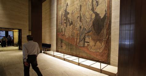 picasso curtain four seasons four season s big picasso going to museum