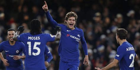 Jersey Bola Marcos Alonso 3 Chelsea Home 2017 2018 Grade Ori courtois sulit bermain di peran marcos alonso bola net
