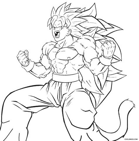 free coloring pages of trunk super saiyan