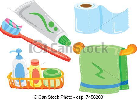 Vector clipart of cartoon bathroom stuff csp17458200 search clip art illustration drawings