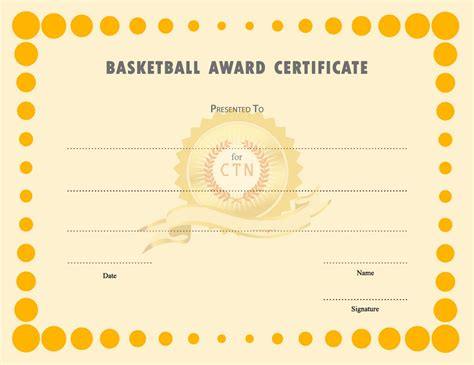basketball certificates templates free free basketball certificates templates activity shelter