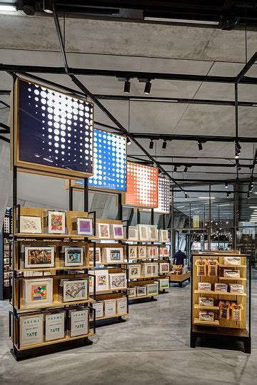 uxus designs  tate modern retail space