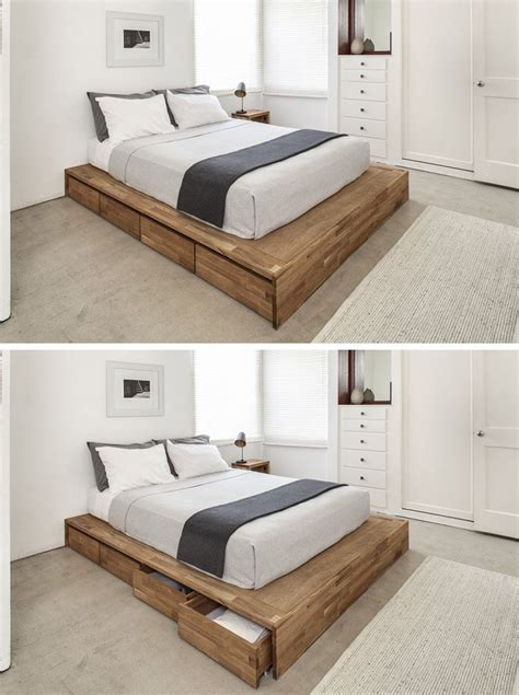 hardwood bed frame how to build a wooden platform bed frame size of bed