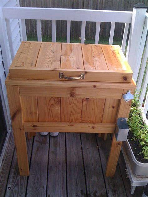 jacob euers  patio deck cooler stand