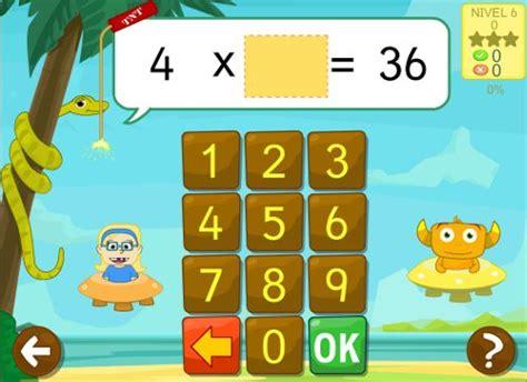 imagenes de niños jugando tablet tikimates juegos educativos para aprender las tablas de
