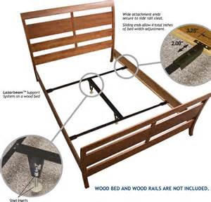 Bed Frame Wood Center Support Lazarbeam Bed Support Size