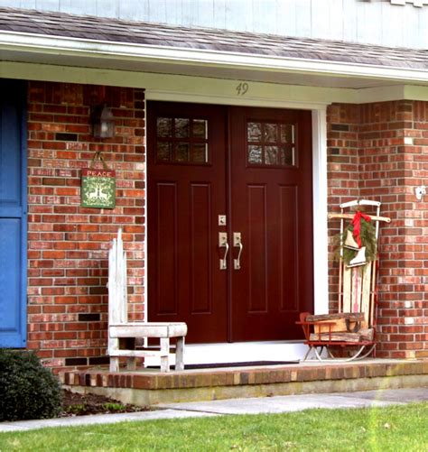 design of doors of house red front door to boost positive energy of your house homestylediary com