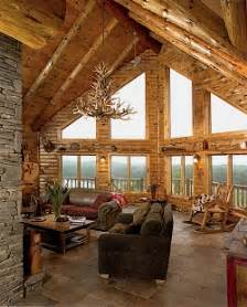 Log Home Interior Pictures chicago bears room luxury log cabins and log home interiors