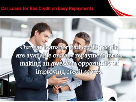 deal  car loans  people  bad credit