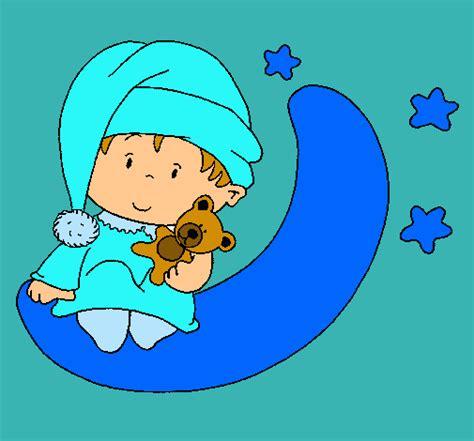 imagenes para dibujar muy buenas dibujo de beb 233 pintado por buenasnoches en dibujos net el