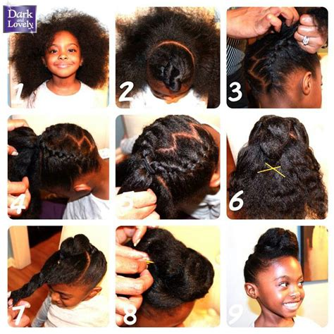 tutorial natural hair styles janelle monae inspired hair tutorial natural hair kids