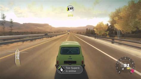 forza horizon fastest  bean mini cooper  mph youtube