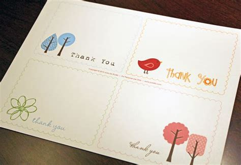 printable thank you card paper 18 free printable cards to thank you for tip junkie