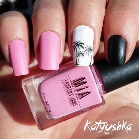 u as decoradas color rosa con negro unas decoradas u 241 as decoradas en rosa 2 katyushka nails