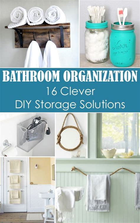 Diy Bathroom Storage Solutions Pinterest The World S Catalog Of Ideas