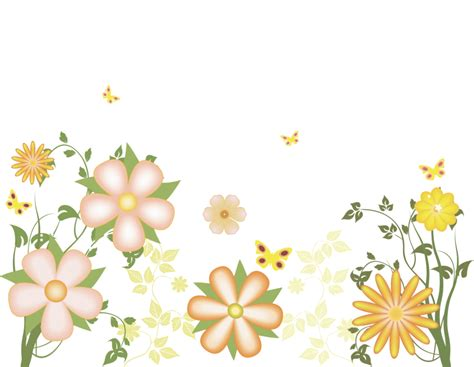 Office Design by Free Flower Clipart Transparent Background Clip Art Library