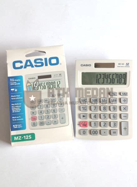 Kalkulator Casio Mz 12s 12 Digit harga calculator kalkulator citizen ct 512 12 digit di medan atk medan