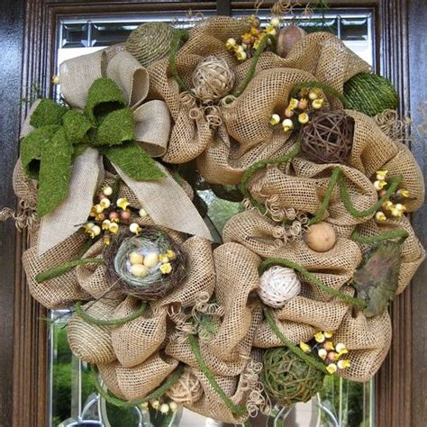 280 best christmas burlap inspirations images on