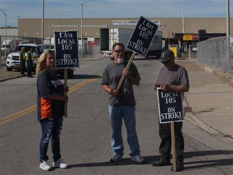 southern swing shift ohio glass workers discuss strike with sep presidential