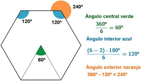 angulo interior de un poligono regular diagonales diagonales en un poligono angulos de un