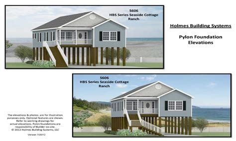 House Plans On Pilings by House Floor Plans On Pilings Raised House