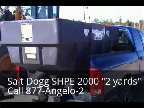western swing away 2000 salt spreader salt dogg shpe2000 2 yard salt spreader doovi
