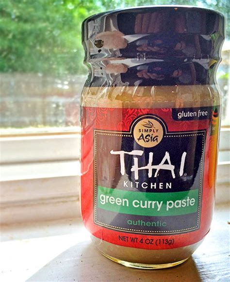thai kitchen green curry paste tangy thai green curry coconut spinach sauce
