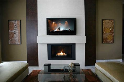 Fireplace Surrounds Modern by Custom Lightweight Concrete Fireplace Surround